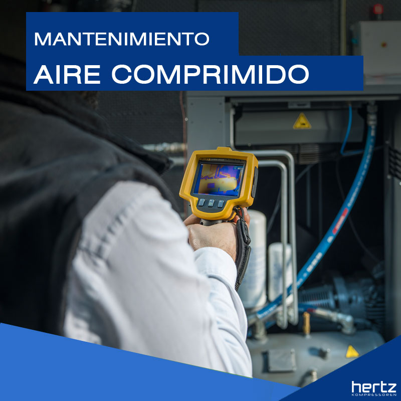 mantenimiento aire comprimido hertz