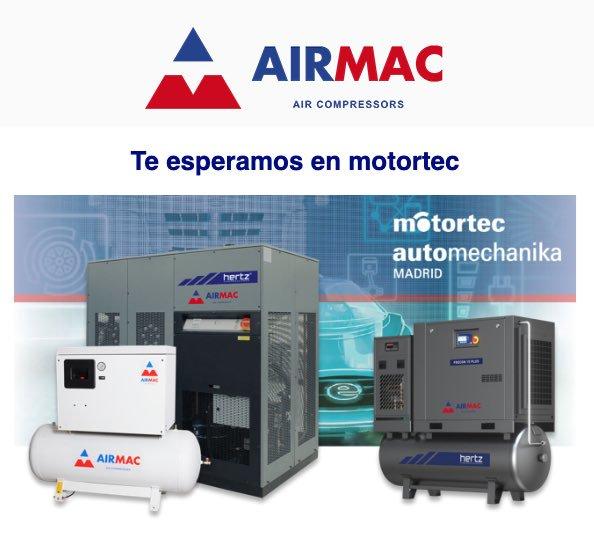 airmac en feria motortec madrid 2019