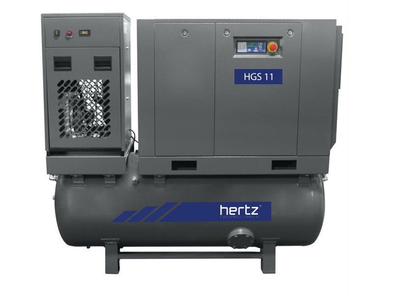 compresor tornillo hgs series compact