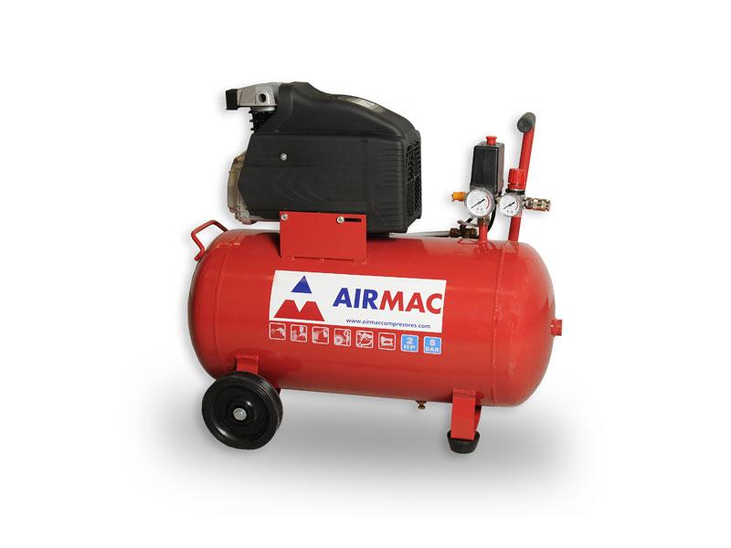 compresores piston airmac coaxial lubricados
