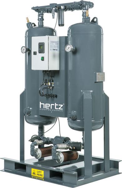 secadores desecantes serie hda