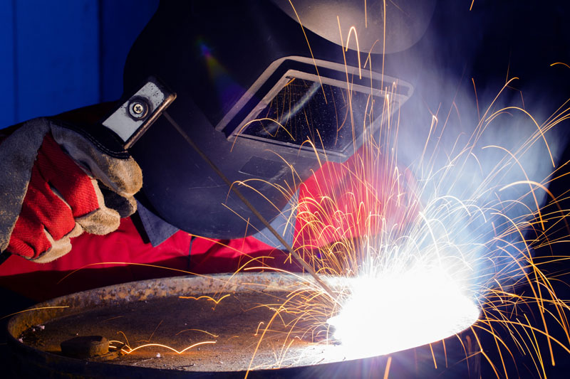 aire comprimido en carpinteria metalica