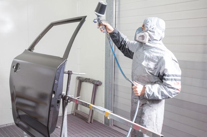 aire comprimido en talleres chapistas