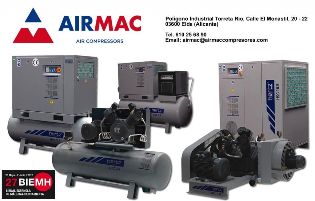 Bienvenidos a Airmac Compresores