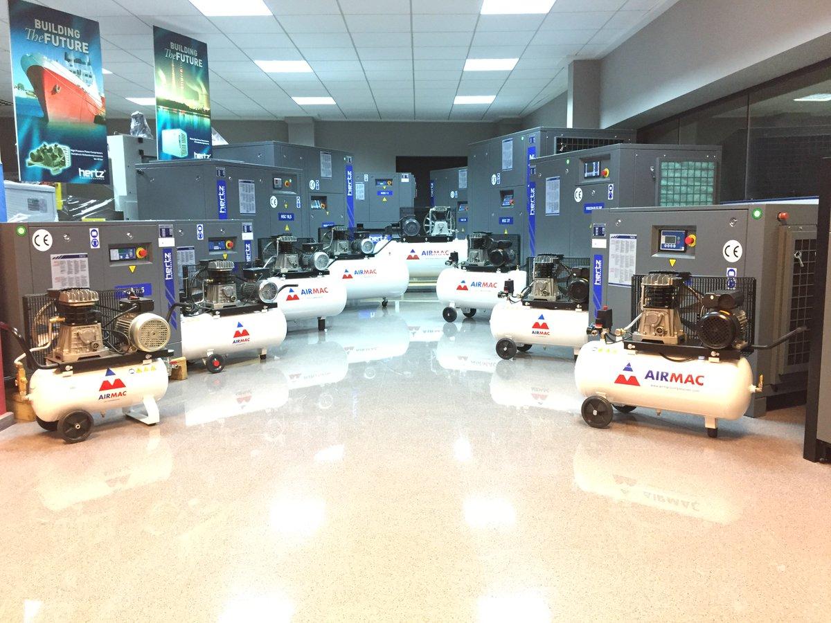 exposicion compresores airmac
